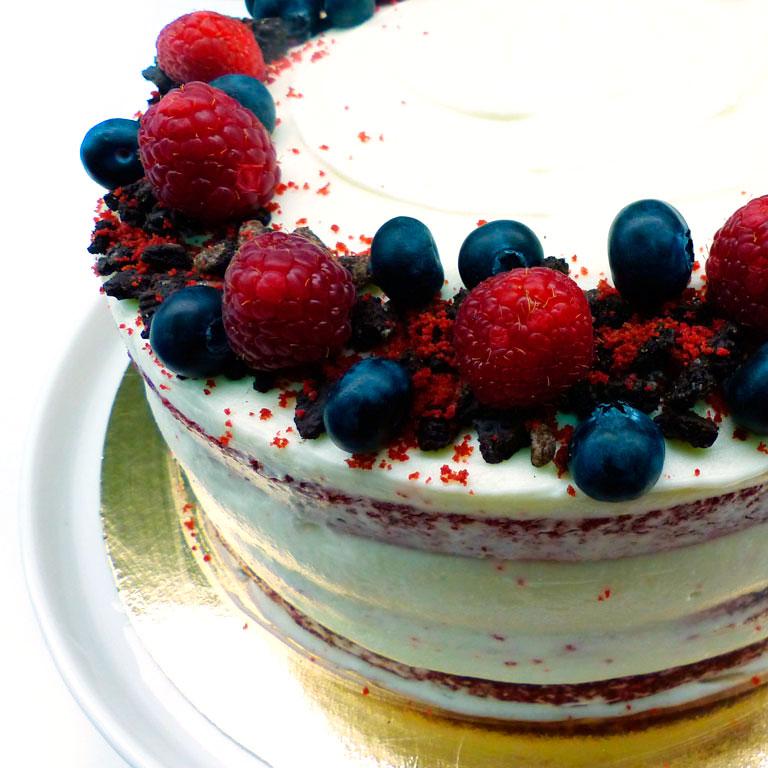New York Cheesecake con frutos rojos